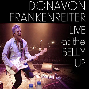Donavon Frankenreiter - Live at the Belly Up show cover thumbnail