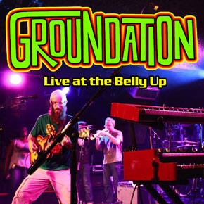 Groundation - Live at the Belly Up show cover thumbnail