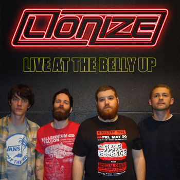 Lionize - Live at the Belly Up show cover thumbnail