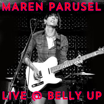 Maren Parusel - Live at The Belly Up show cover thumbnail
