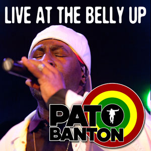 Pato Banton - Live at the Belly Up show cover thumbnail
