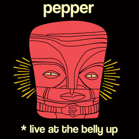 Pepper - Live at the Belly Up show cover thumbnail