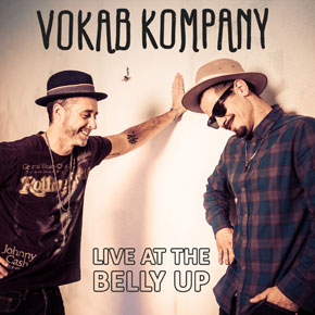 Vokab Kompany - Live at the Belly Up show cover thumbnail