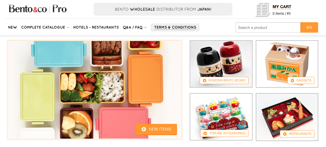 Bento and Co Wholesale Store