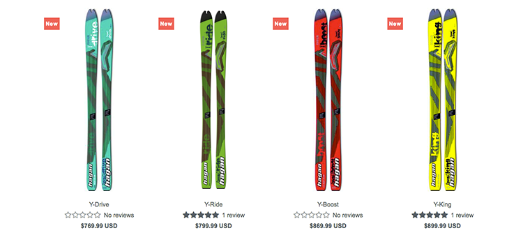 hagan ski shopify mountaineering