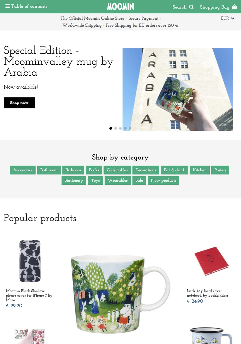The Official Moomin Shop