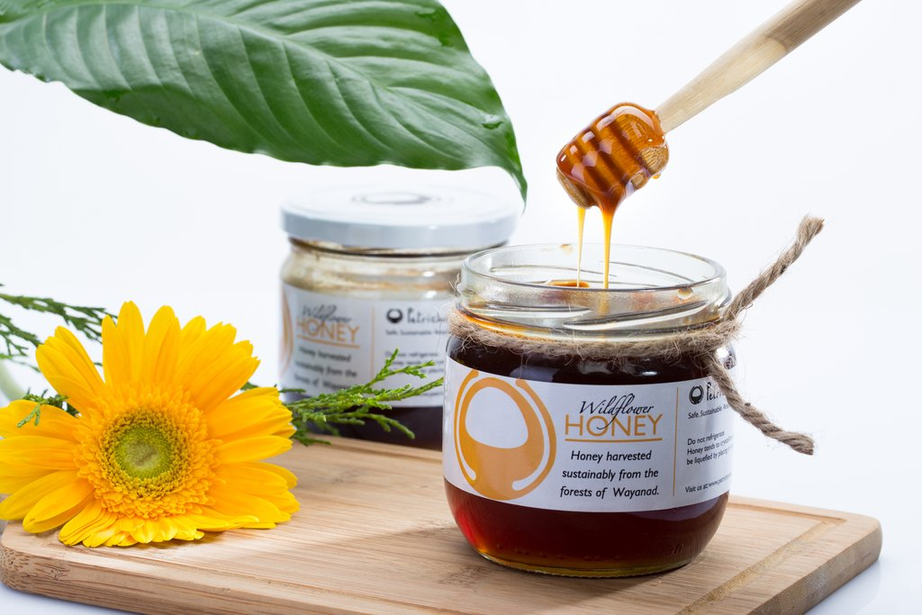 Petrichor Organic Wild Honey