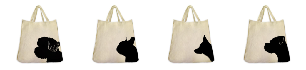 Tote Tails Tote Bags