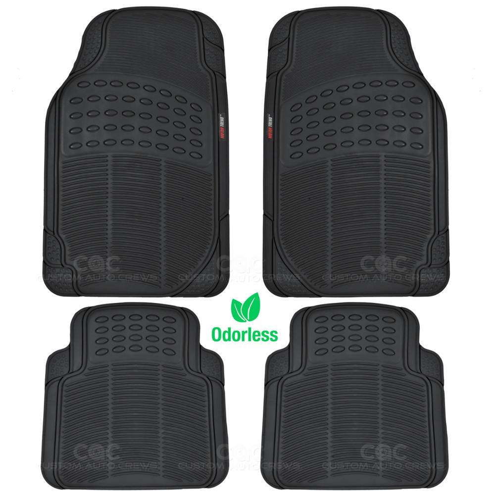 Car Suv Floor Mat Motor Trend Black 100 Odorless Clean