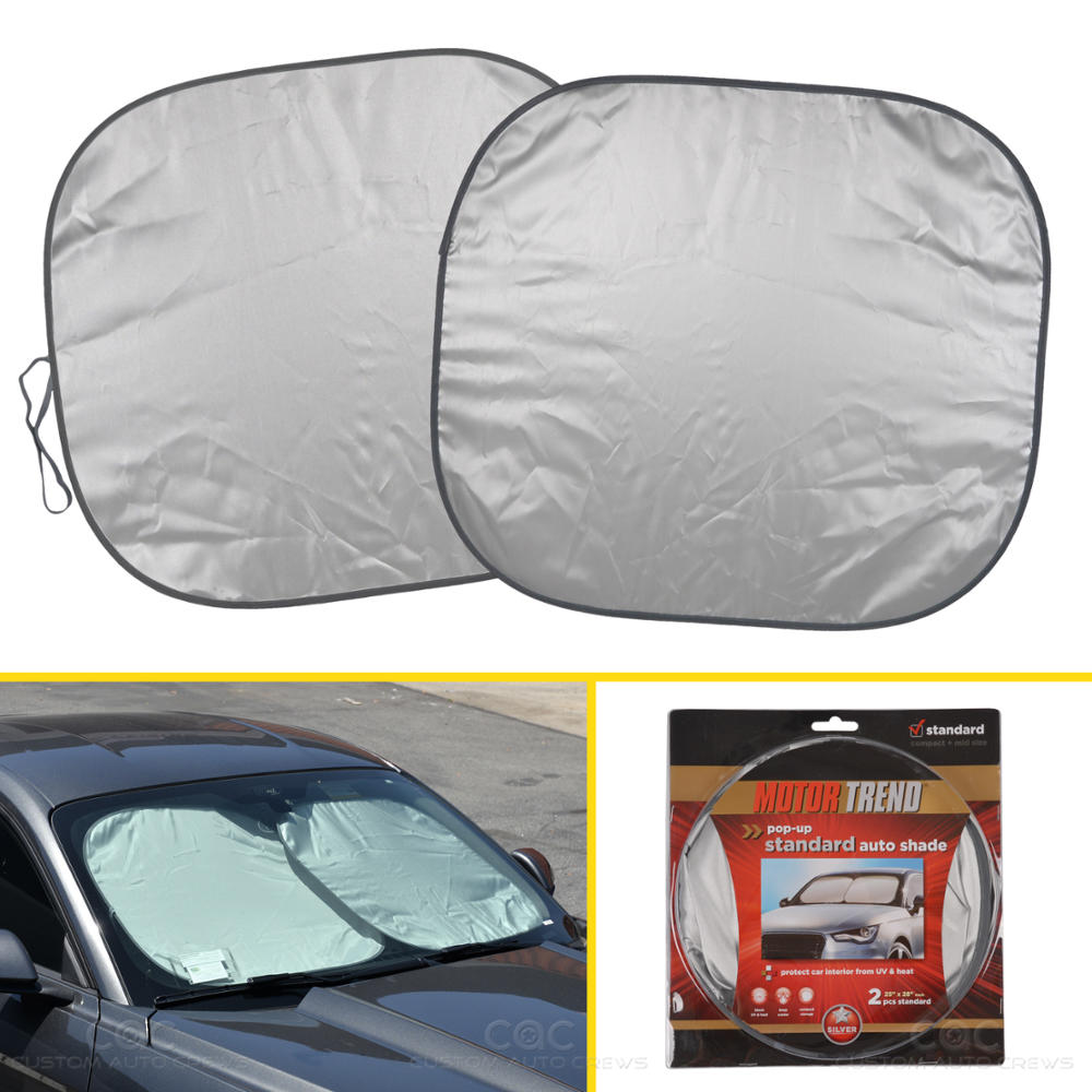 Sun Blocker For Car >> Details About Pop Up Standard Front Car Window Sun Shade Windshield Block Cover Auto Visor