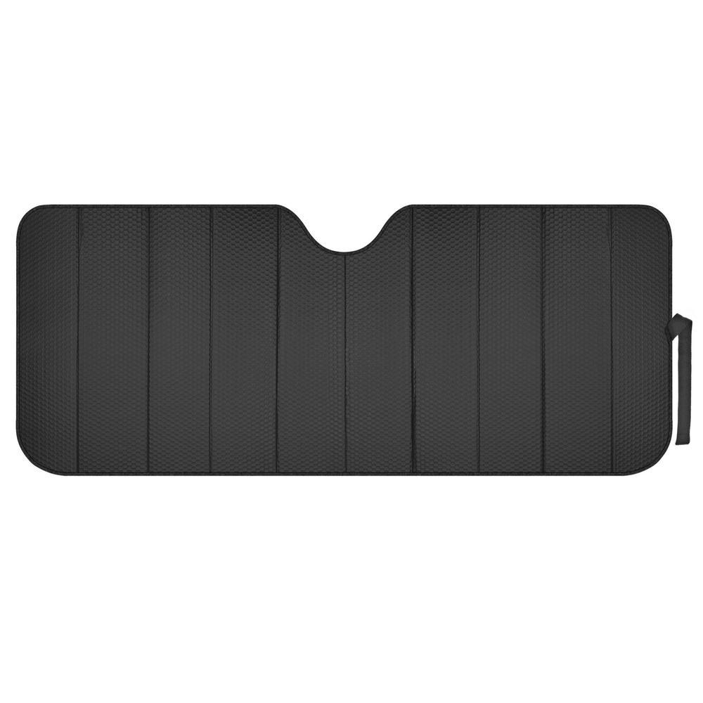 Reflective Black Foil Car Sun Shade Standard Reversible