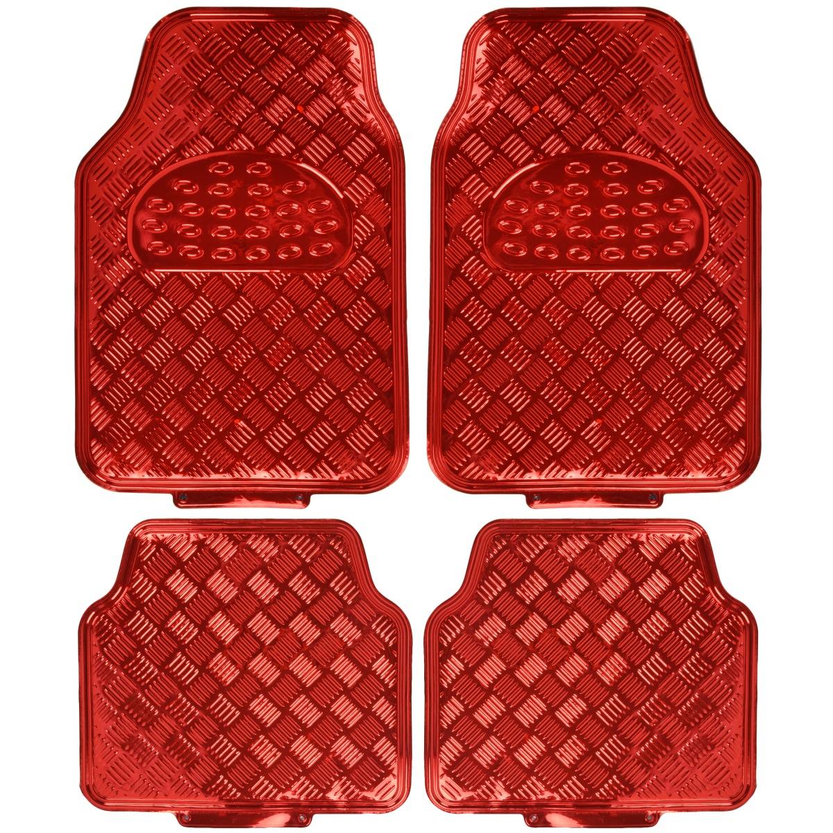 red main itm floors rd floor metallic mt duty guard piece ebay auto rubber mats sheen heavy