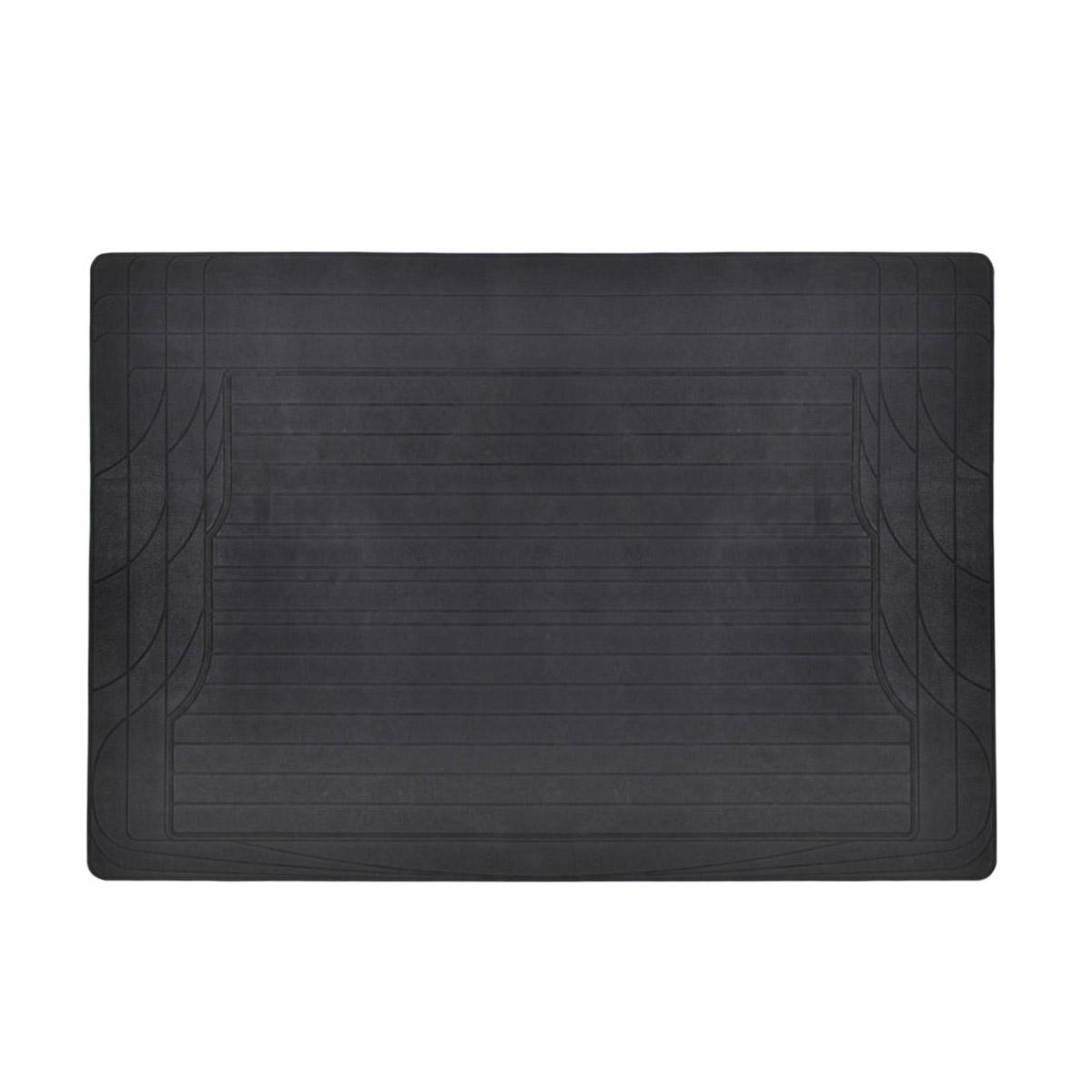 Car Floor Mats With Trunk Mat Black 4 Piece Odorless Trunk
