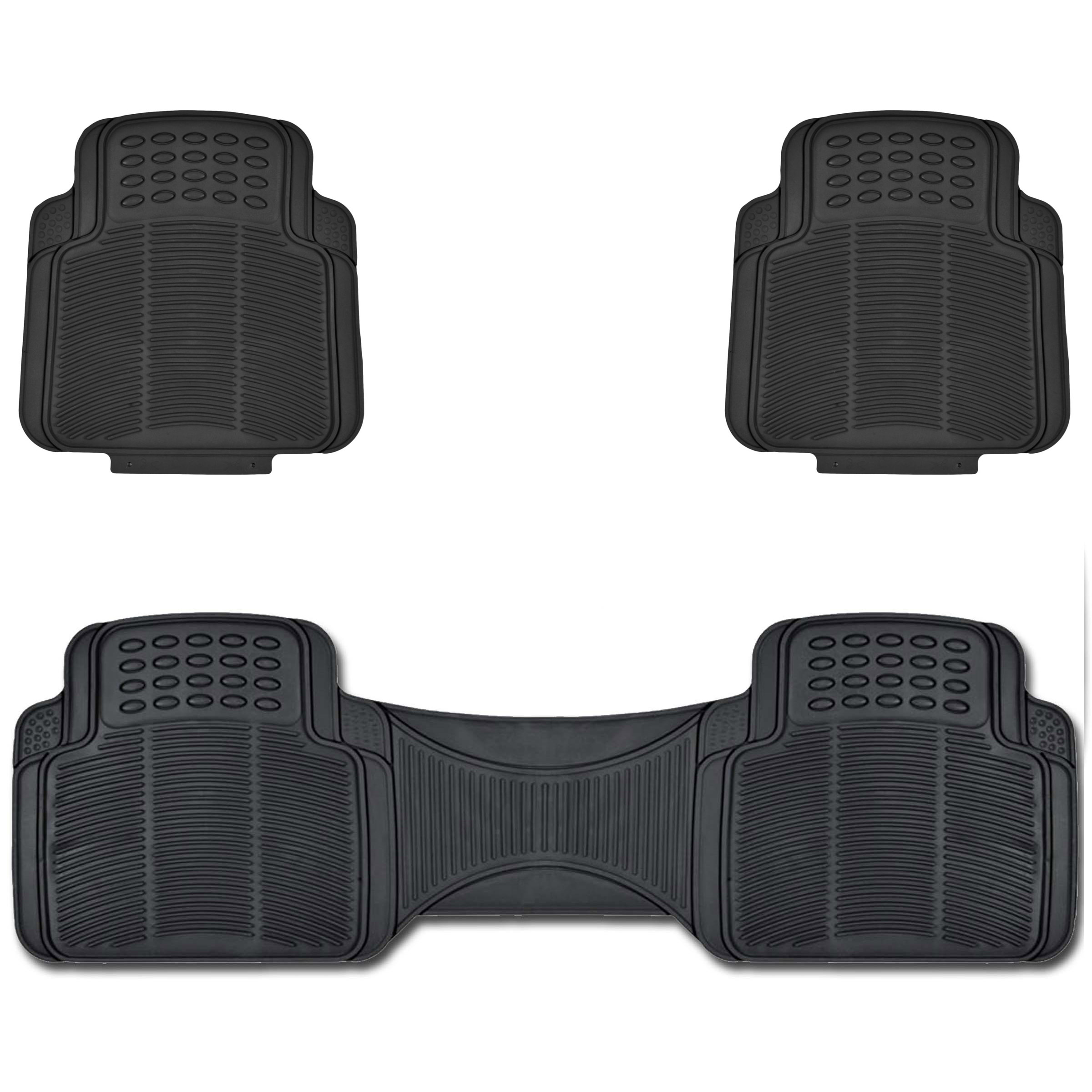 Car Utility Rubber Floor Mats Trimmable To Fit Easy Wash