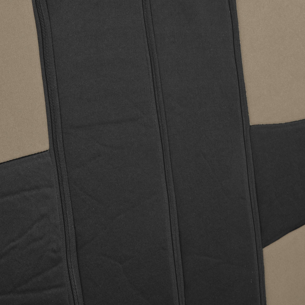Car Seat Covers For Nissan Altima 2 Tone Beige Amp Black W Split Bench 826942118968 Ebay