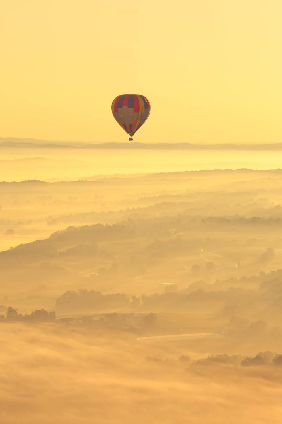 Hot Air Balloon Ride, Bird-in-Hand, PA #vezzaniphotography