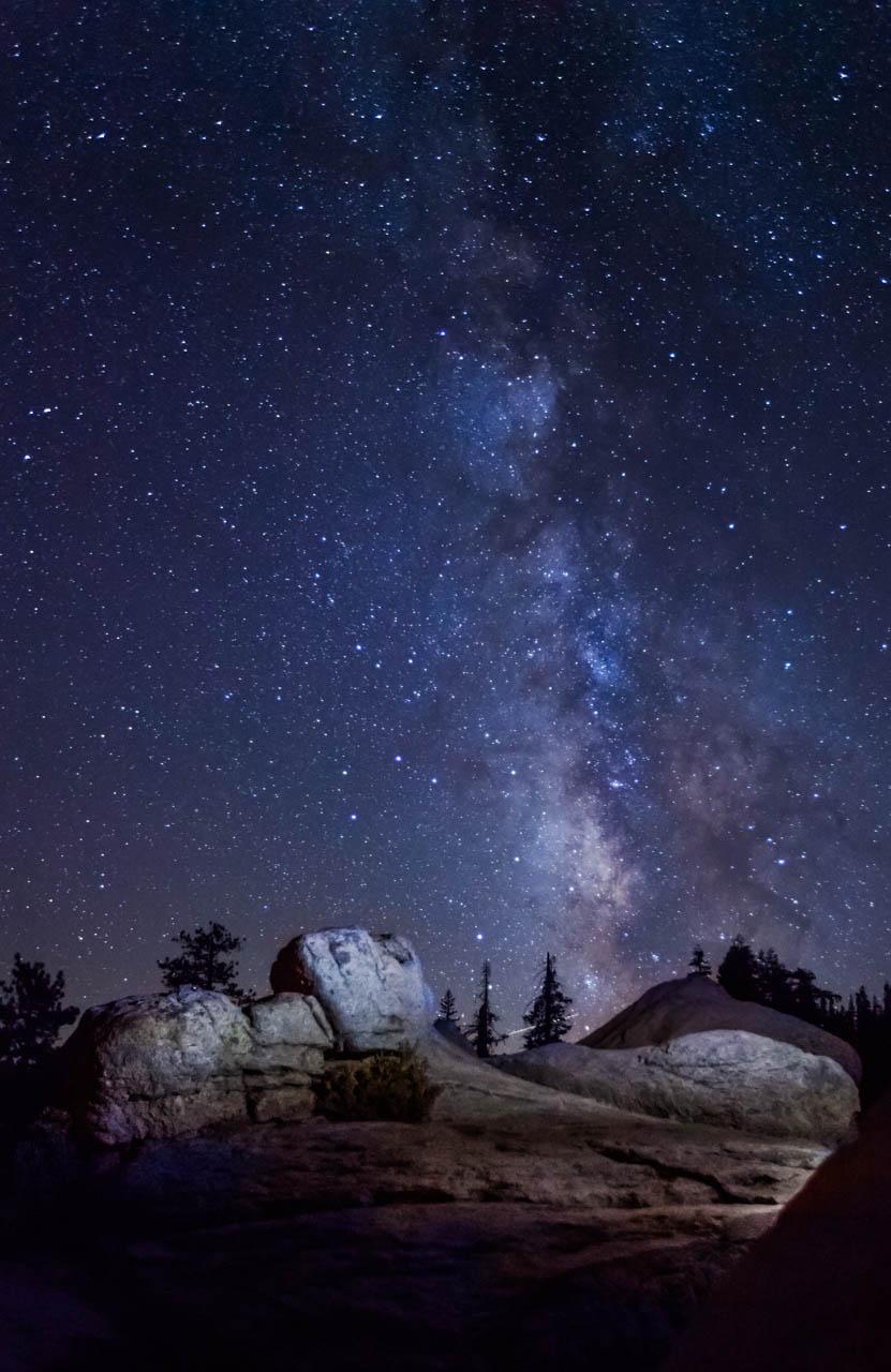 The Milky Way, Glacier Point, Yosemite National Park