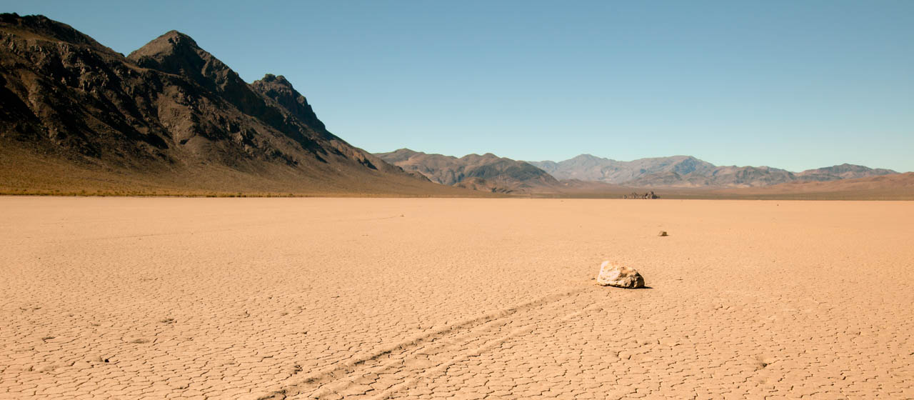 Death Valley National Park California Racetrack Playa Racing Rocks