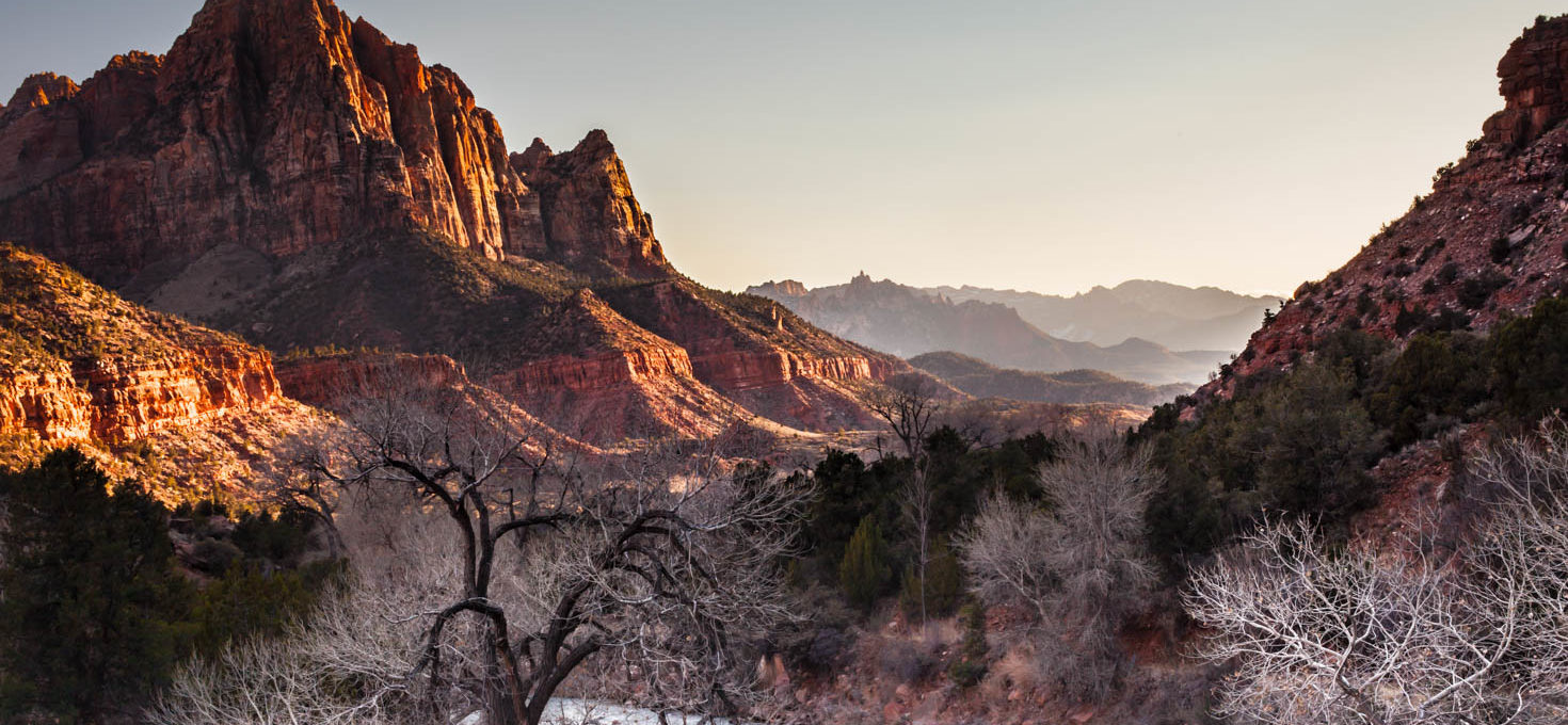 Exploring Zion National Park in the Winter