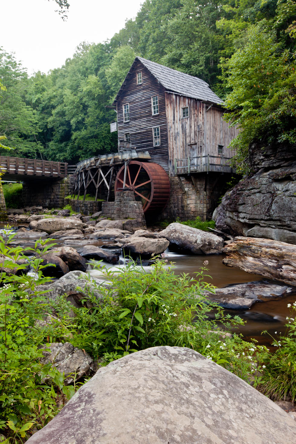 Glade Creek Grist Mill, Babcock State Park, West Virginia