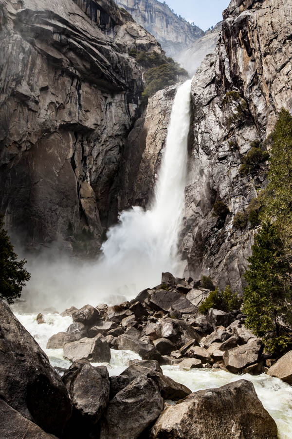 Lower Yosemite Fall - My Favorite Hike at Yosemite National Park - How to Photograph Silky Waterfalls #vezzaniphotography