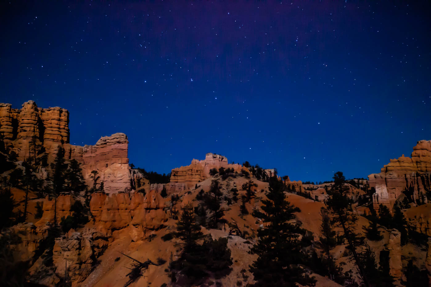 Stargazing on the Fairyland Trail in Bryce Canyon National Park #vezzaniphotography
