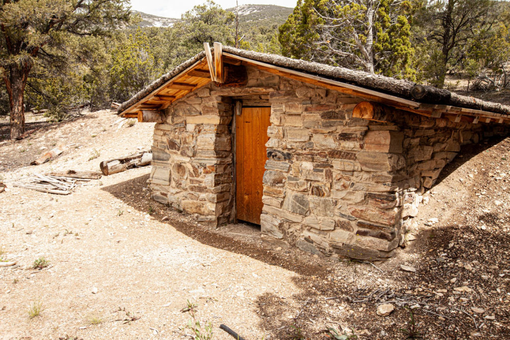 Great Basin National Park Miner's Homestead