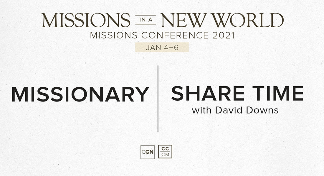 Missionary Share Time - David Downs