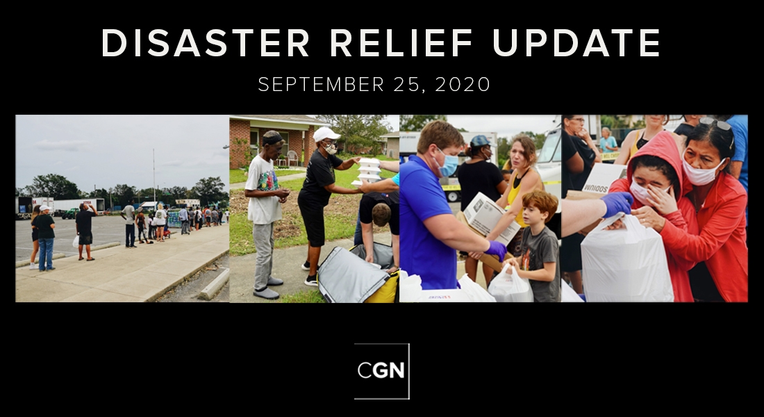 Disaster Relief Update