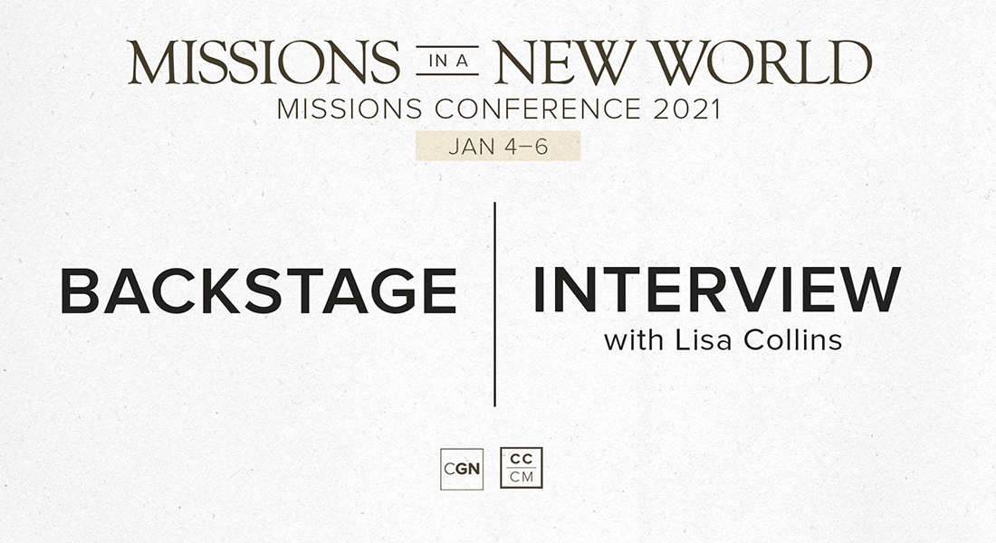 Backstage Interview with Lisa Collins
