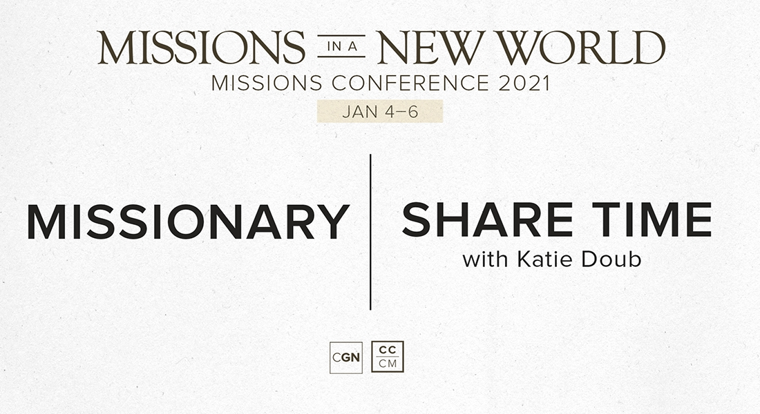Missionary Share time - Katie Doub