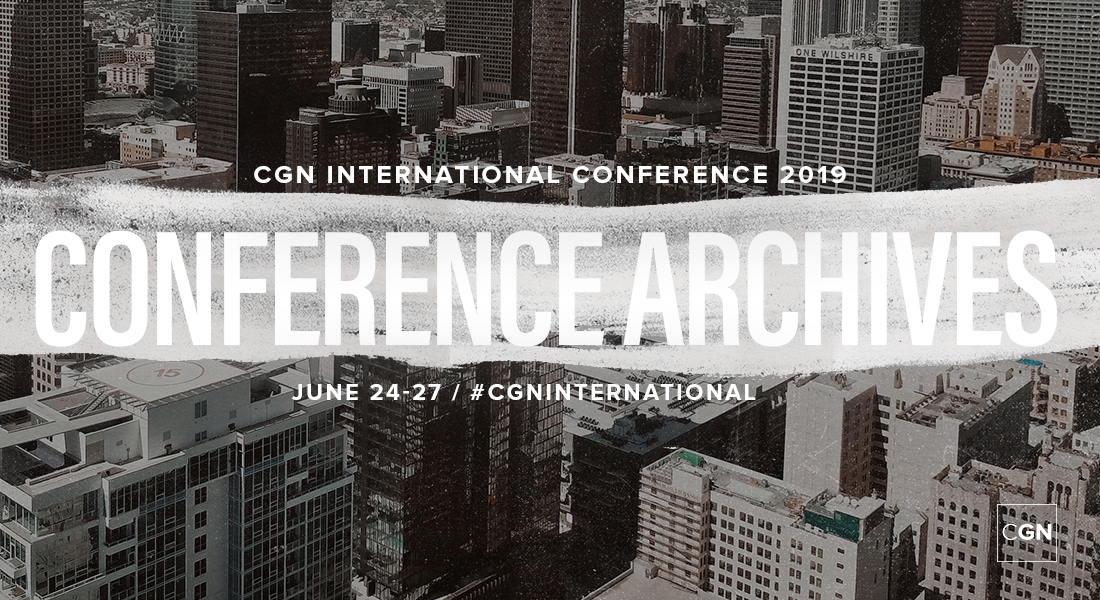 CGN International Conference 2019 Archives