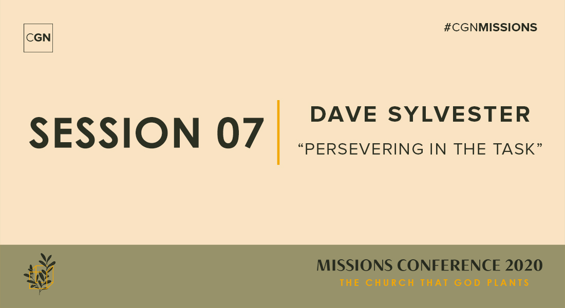 "Session 07: ""Persevering in the Task"""