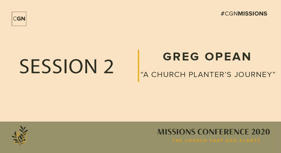 Session 02: A Church Planter's Journey