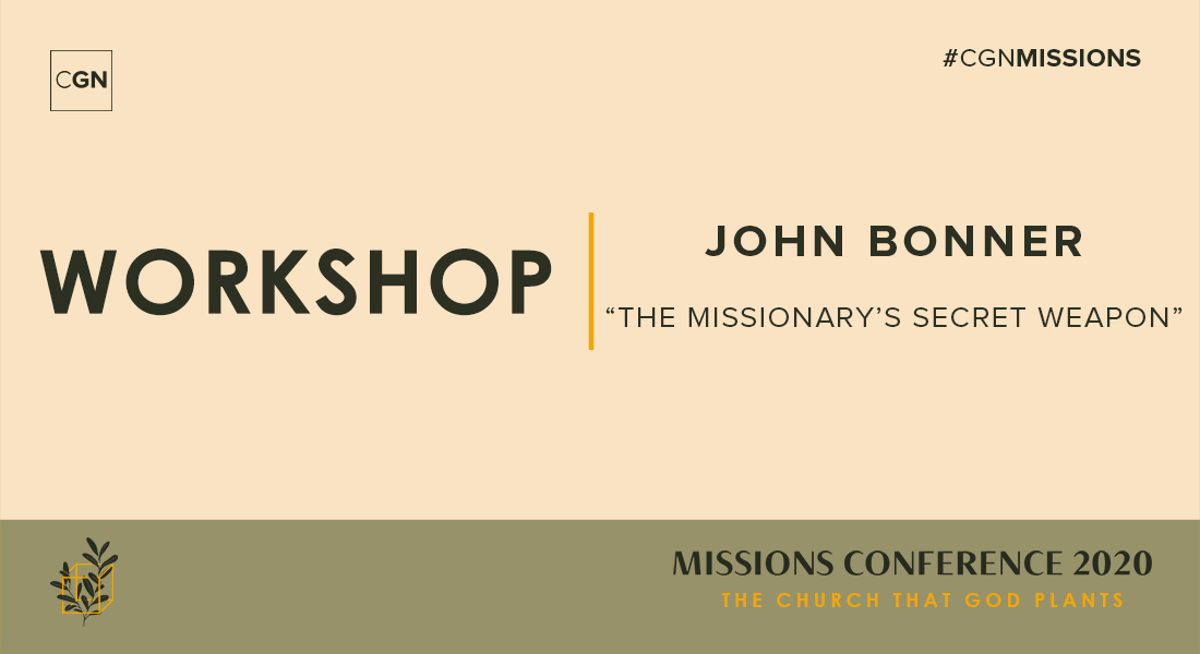 Thursday Workshop: The Missionary's Secret Weapon