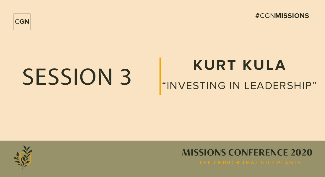 Session 03: Investing in Leadership