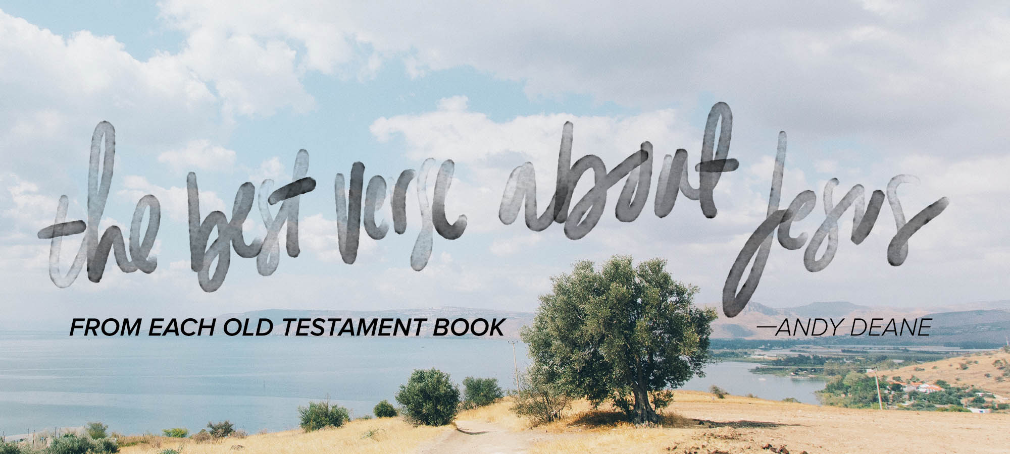 The Best Verse About Jesus from Each Old Testament Book