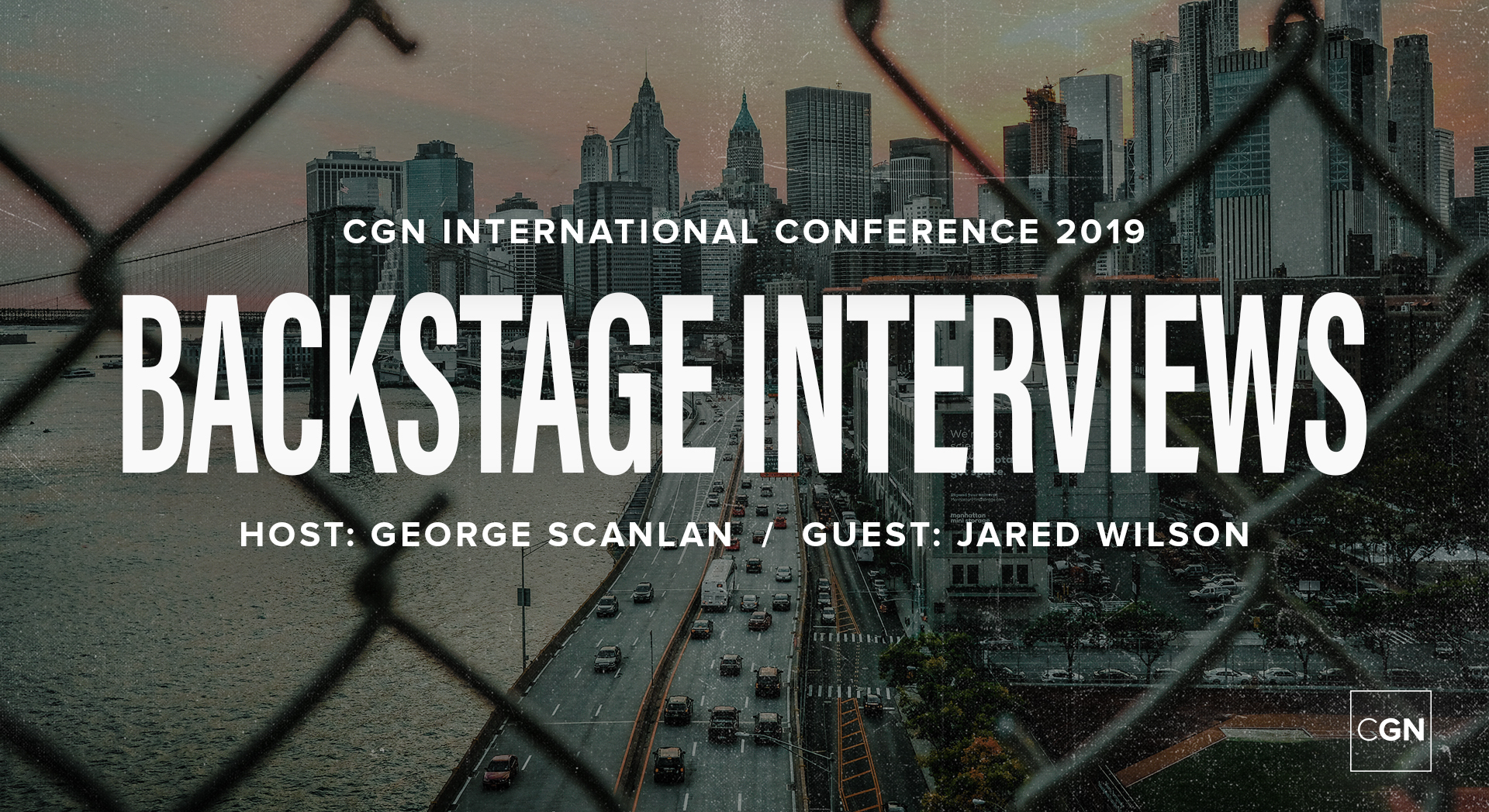Backstage Interview - Jared Wilson