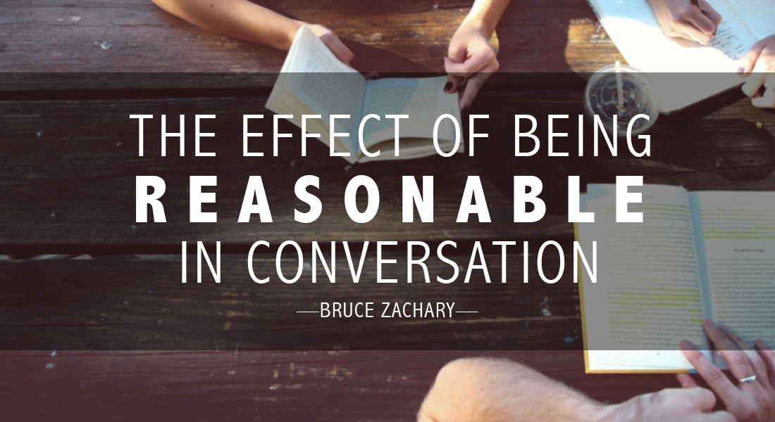 The Effect of Being Reasonable in Conversation