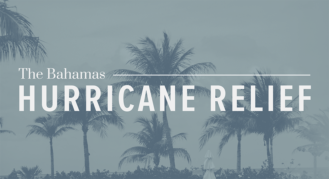 The Bahamas: Hurricane Relief