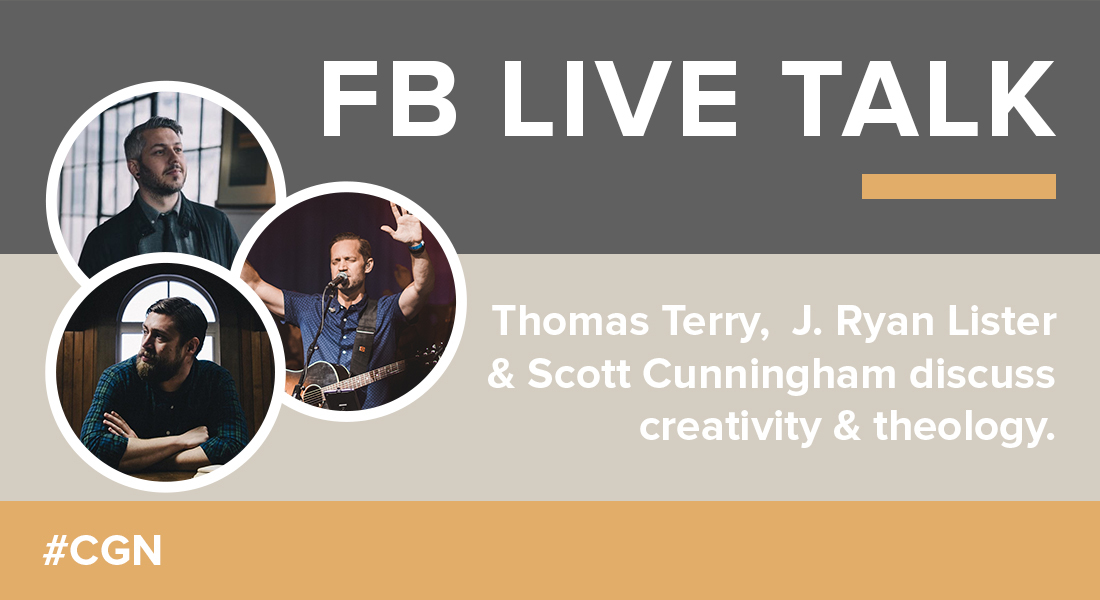 FB Live Talk on Creativity & Theology