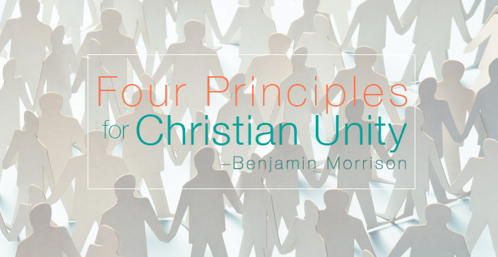 Four Principles for Christian Unity