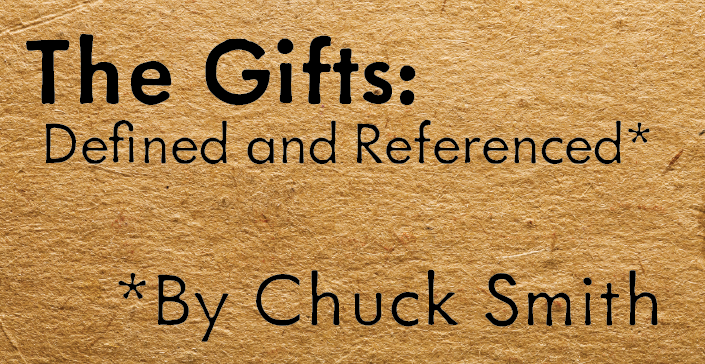 The Gifts: Defined and Referenced