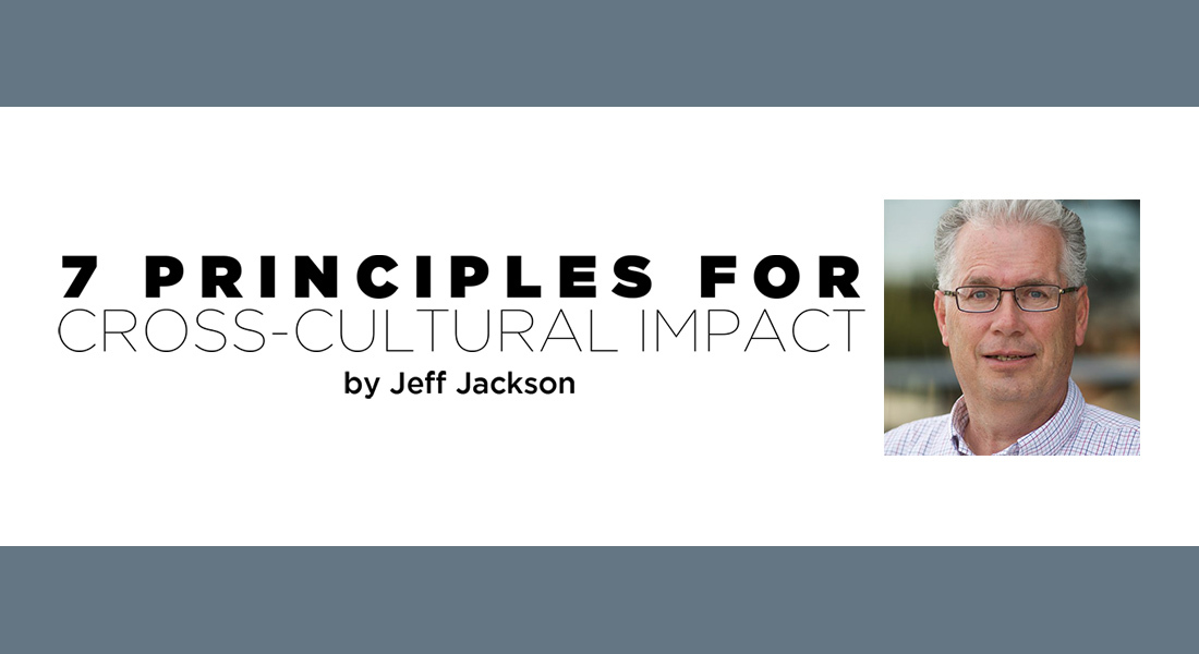 Seven Principles for Cross-Cultural Impact