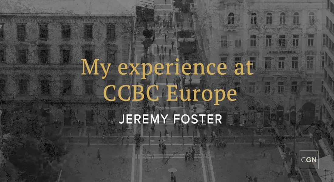 My Experience at CCBC Europe