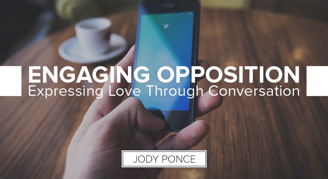 Engaging Opposition: Expressing Love Through Conversation