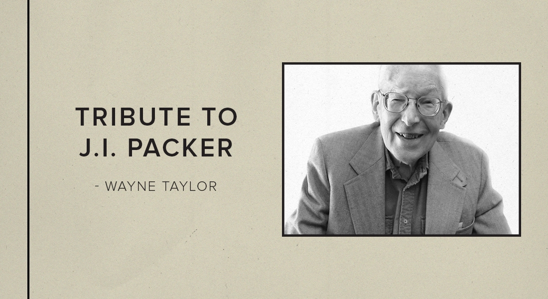 Tribute to J.I. Packer