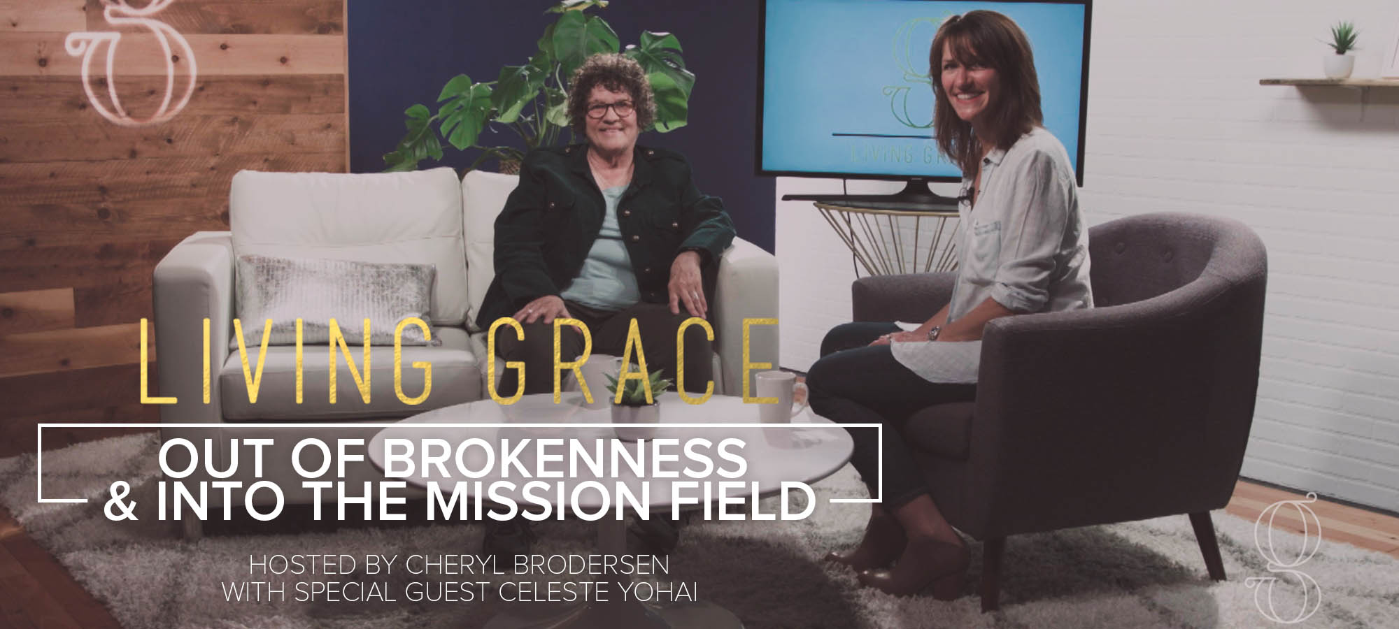 Out of Brokenness & into the Mission Field
