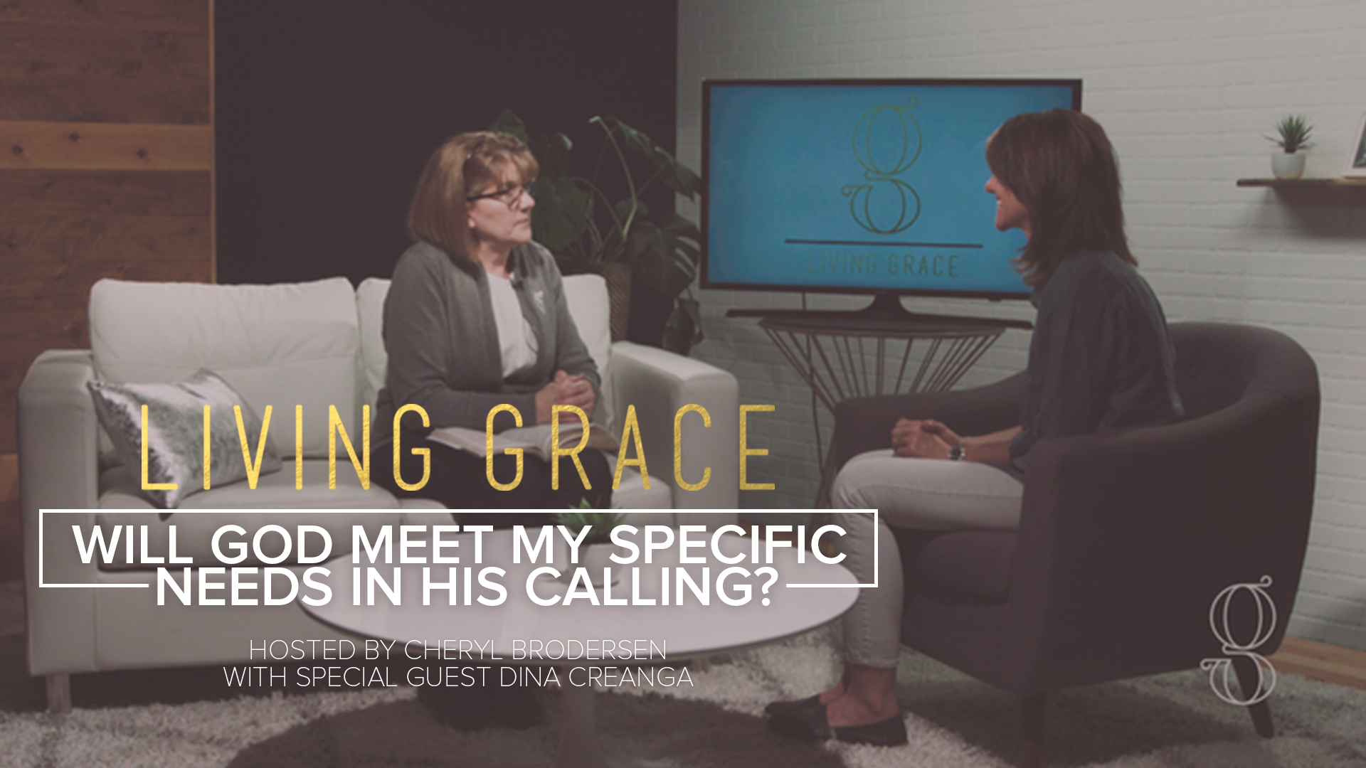 Living Grace S2 E2: Will God meet my specific needs in His calling?