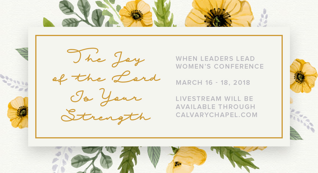 2018 When Leaders Lead Conference